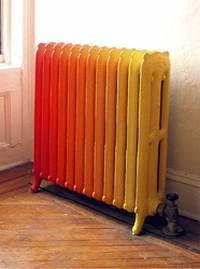 покрасить радиатор