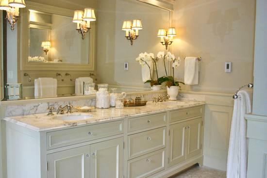 красивая мебель ванной