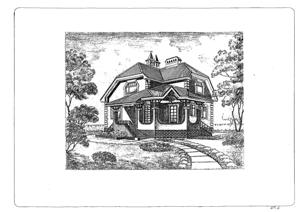 Дом из газовых блоков