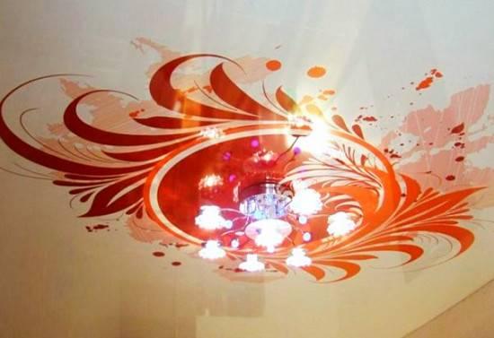 потолок пленочный