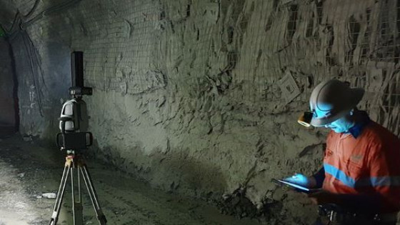 Комплексное геологическое исследование, решение для лазерного сканирования