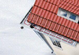 Преимущества греющего кабеля для крыши