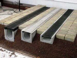 Преимущества бетонных водоотводных лотков